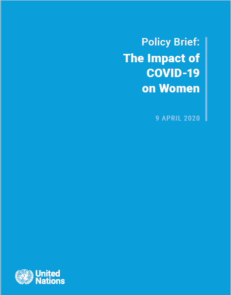 Informe sobre el impacto del COVID-19 sobre las mujeres