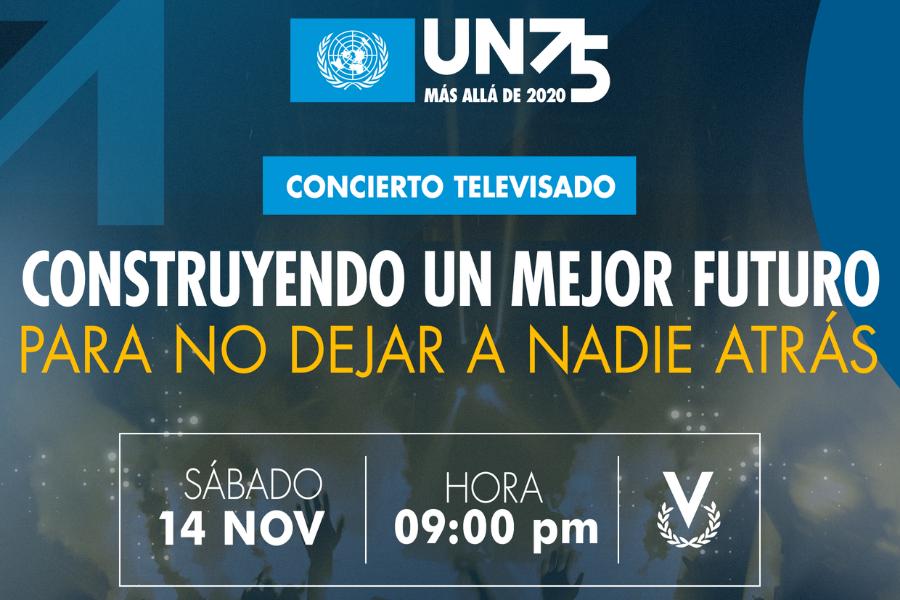 """Naciones Unidas Venezuela presenta concierto """"Construyendo un mejor futuro para no dejar a nadie atrás"""""""