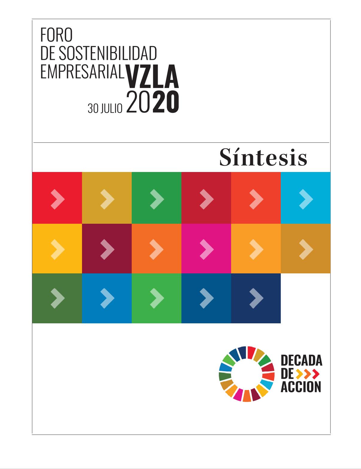 Síntesis del Foro de Sostenibilidad Empresarial Venezuela 2020