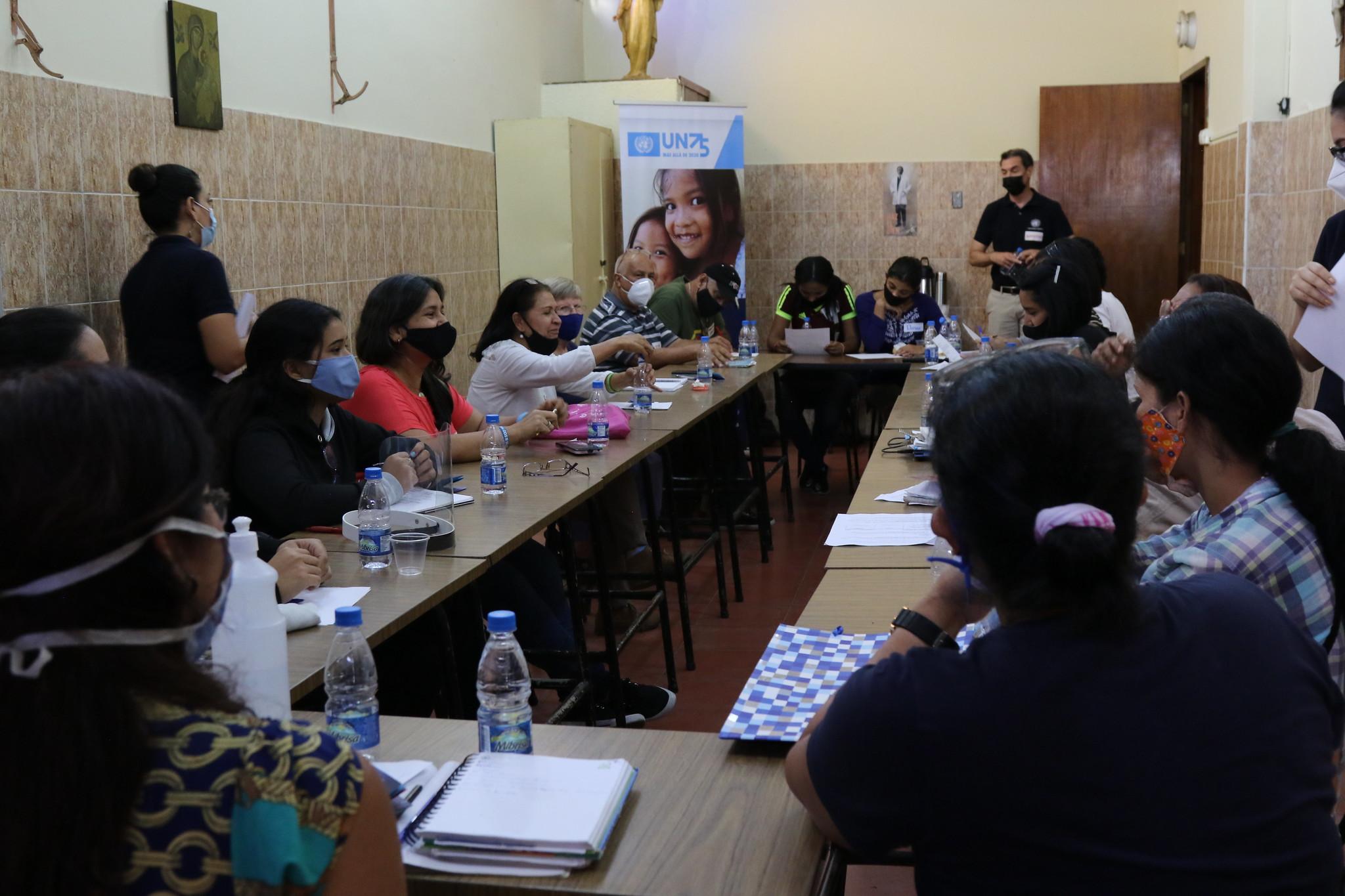 Reporte ONU75: Construyendo un mejor futuro para no dejar a nadie atrás