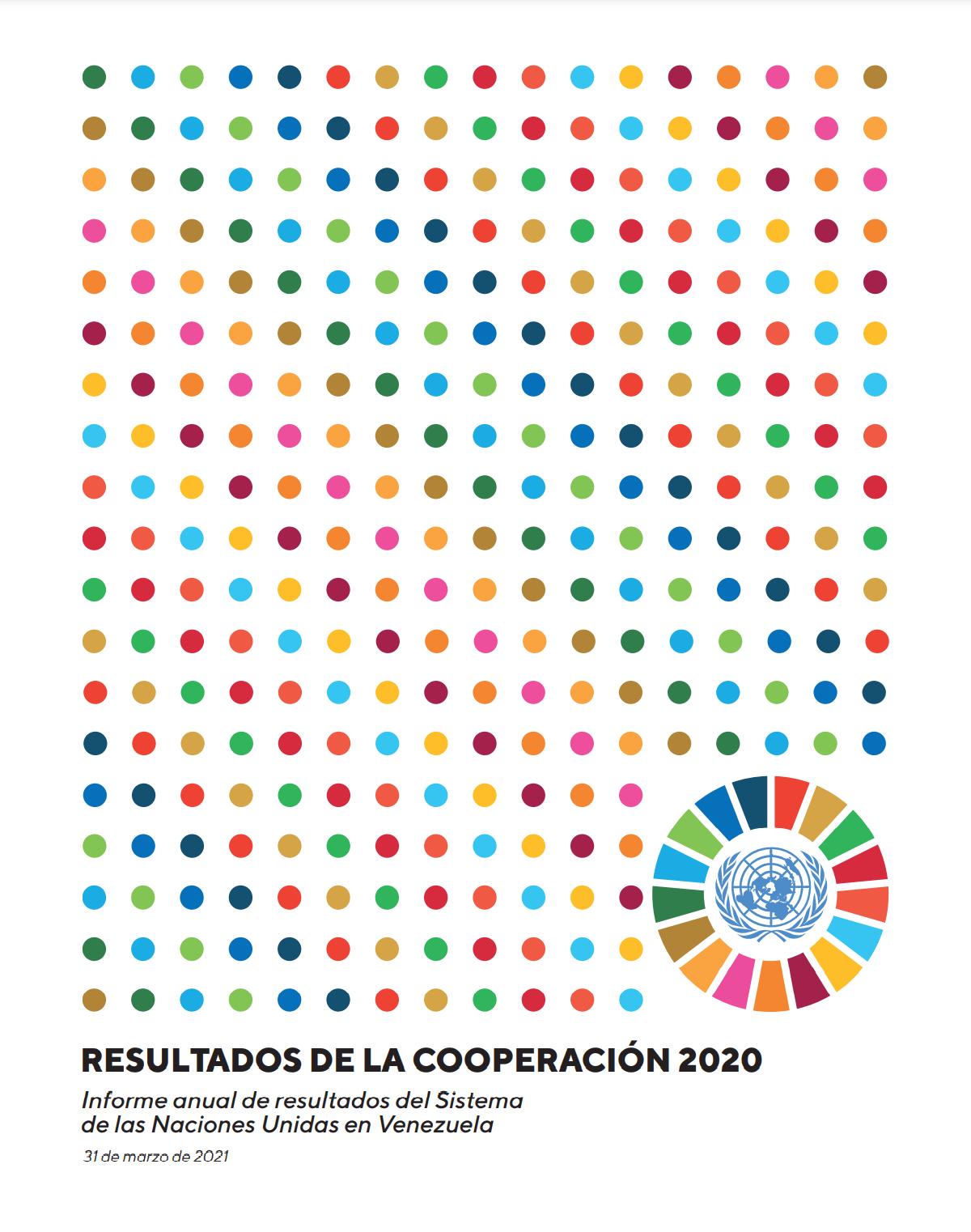 Informe anual de resultados del Sistema de las Naciones Unidas en Venezuela 2020