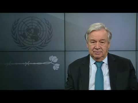 Secretario General con motivo del Día Internacional de Conmemoración de las Víctimas del Holocausto