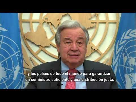Declaración del Secretario General al alcanzarse dos millones de muertes por la pandemia COVID-19